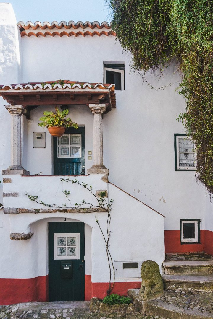 A cute house in Obidos, Portugal