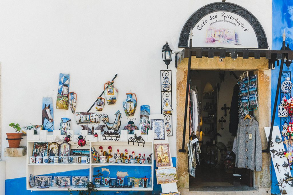 A Storefront in Obidos, Portugal