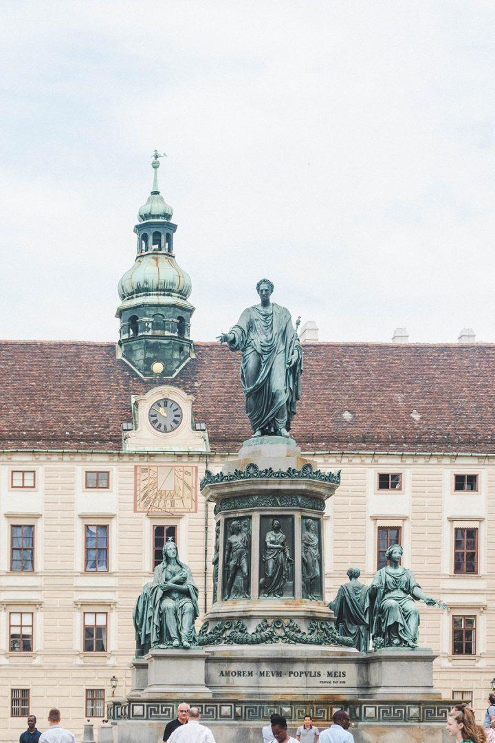 A statue in Vienna, Austria