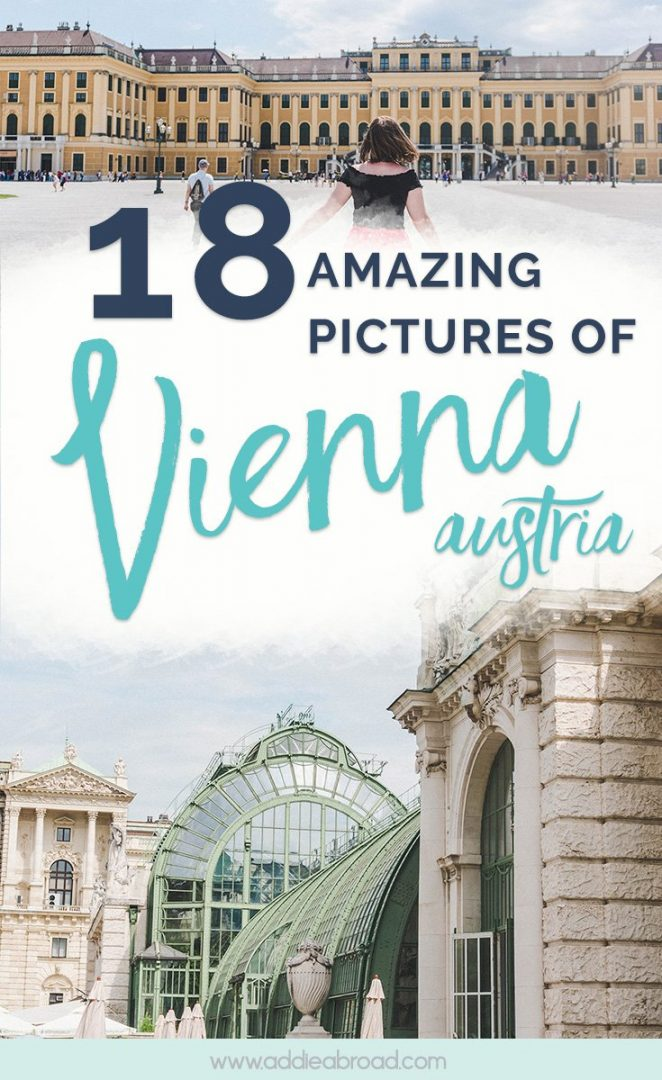 Vienna, Austria is one of the most photogenic cities in Europe. Need some travel inspiration? Here are 18 Vienna pictures that will inspire you to visit. #Vienna #Austria #EuropeTravel #TravelInspiration