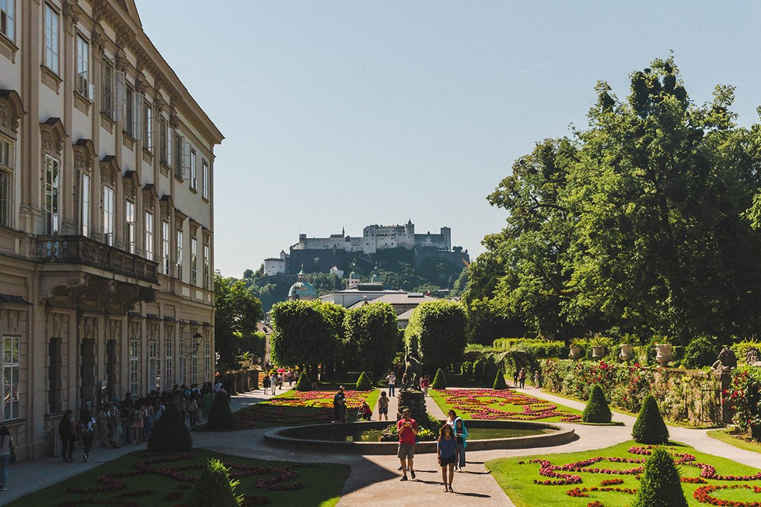 Mirabell Gardens in Salzburg, Austria - a Sound of Music filming location