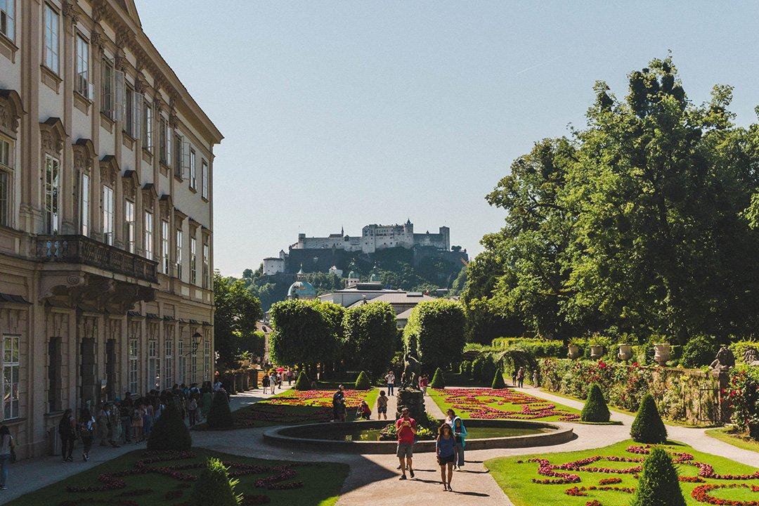 Mirabell Gardens in Salzburg, Austria - a Sound of Music filming location