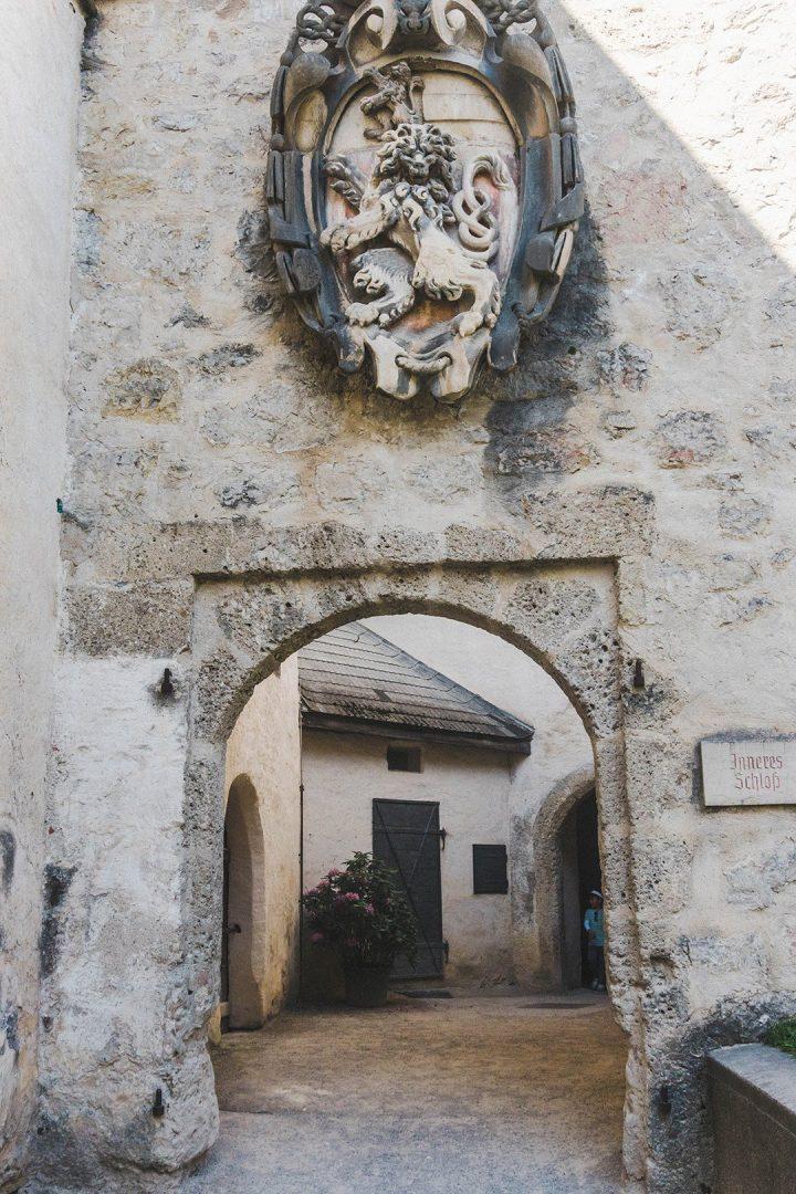 A random archway in the Salzburg Fortress