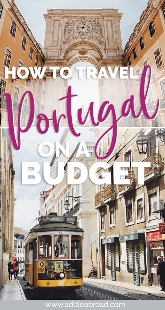 Think you have to go to Eastern Europe to travel Europe on a budget? Think again! This guide will tell you all about how to travel Portugal on a budget of only €55 a day! #Portugal #BudgetTravel
