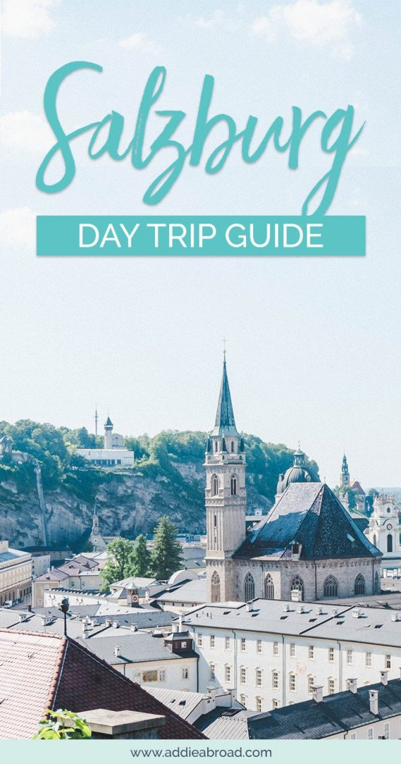 Salzburg, Austria is the perfect place for a day trip. Here's how to take a day trip to Salzburg from Vienna, Austria. Read this post to find out things to do in Salzburg, Austria in one day! #Salzburg #Austrai #Europe #TravelInspiration