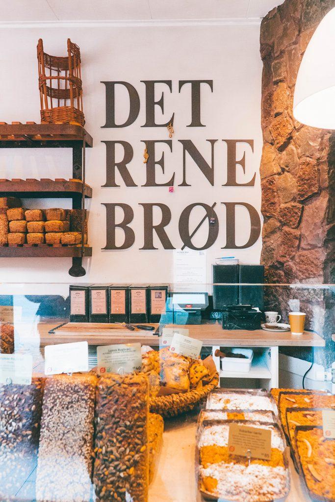 Det Rene Brod bakery in Copenhagen