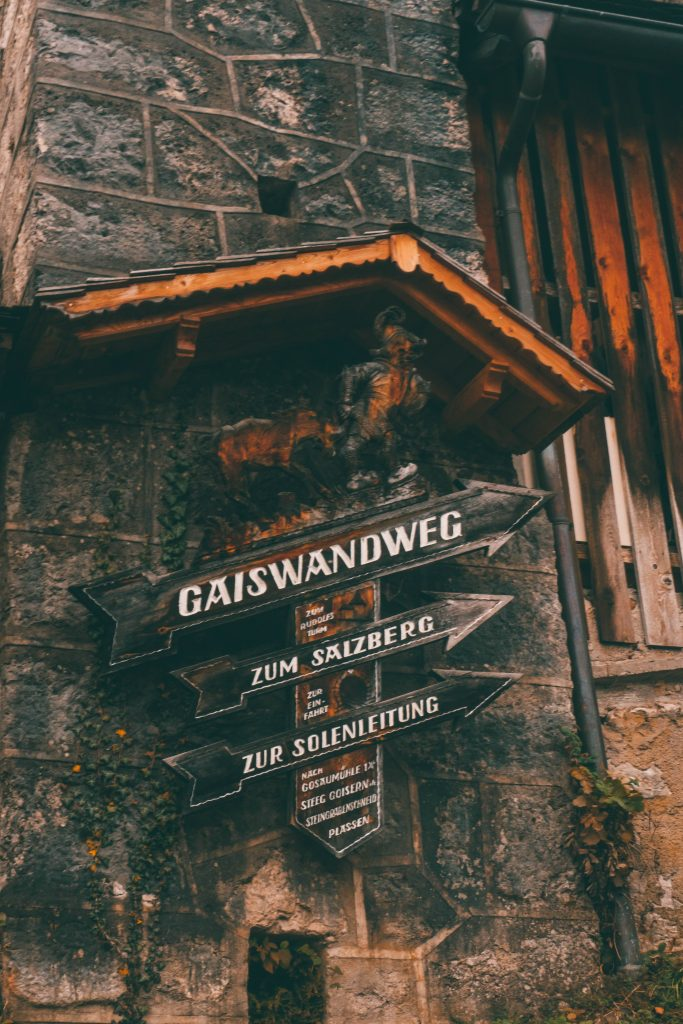 Follow the Gaiswanderweg to get the best Hallstatt Photos
