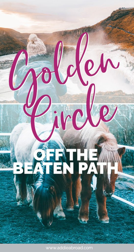 The Golden Circle is one of Iceland's most popular tourist routes. While it's easy enough to visit Thingvellir, Geysir, and Gullfoss, getting off-the-beaten-path isn't. Read this post to find out how to get off-the-beaten-path with EastWest Iceland on their Golden Circle Iceland Tour. #iceland #travel #europe