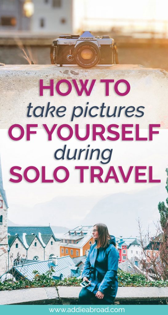 If you travel solo then you NEED to read this post about how to take pictures of yourself. I detail my step-by-step process, equiptment, and tips & tricks! #travel #travelphotography #solotravel #traveltips