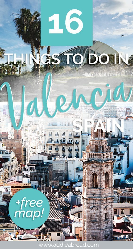 Valencia, Spain is one of the most under-appreciated Spain destinations. Here are 17 awesome things to do in Valencia, including the beach, paella, and old town. Click through to read them all! #travel #spain