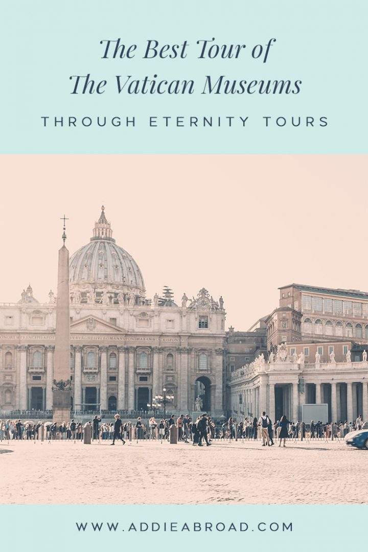 The Vatican and the Vatican Museums are two must sees when you're in Rome - but they can be seriously overwhelming to do on your own! For the best Vatican guided tours, go with Through Eternity Tours. Click through to read my complete review!