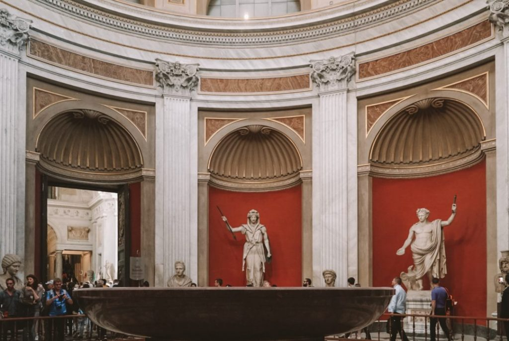 A room in the Vatican museums