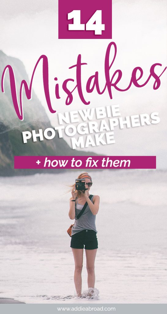 Beginner travel photographers have their work cut out for them if they don't know about these 14 travel photography mistakes. In this post, you'll learn the most common photography mistakes as well as travel photography tips to fix them! Click through to read. #travel #travelphotography