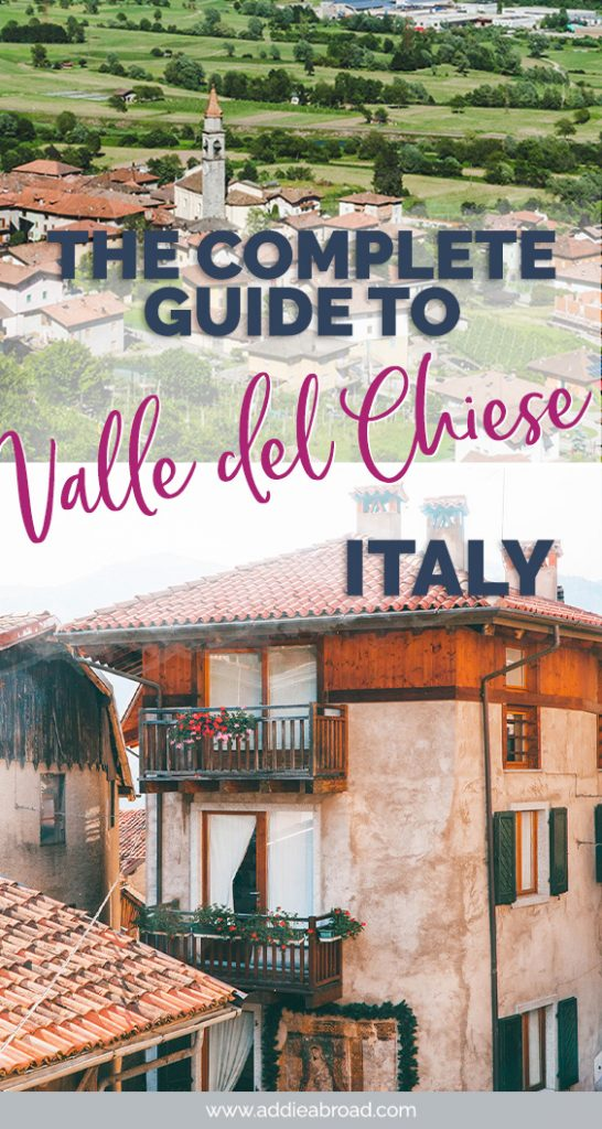 Lake Garda is great, but it's crowded. For an alternative Italian Lakes getaway, you need to visit the Valle del Chiese in Trentino, Italy. It's the ultimate adventure and foodie travel destination! Click through to read #travel #italy #trentino
