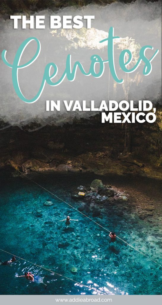 Valladolid cenotes are some of the best in the Yucatan peninsula. Visit some of the best cenotes near Valladolid, Mexico on this day trip!