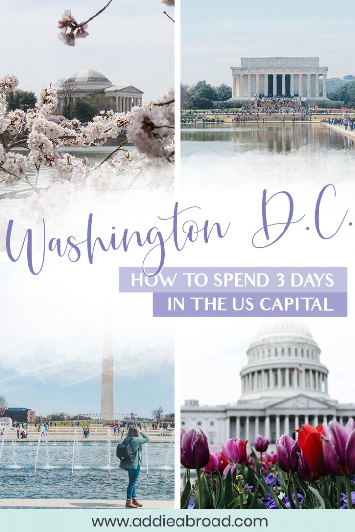 Traveling to Washington DC? This ultimate guide features all of the best things to do in Washington DC, including food, Georgetown, Smithsonian Museums, and all the other must-sees. Click through to read this perfect Washington DC itinerary! #washingtondc #usatravel #washingtondctravel #travel #travelguide