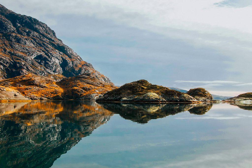 The Isle of Skye in Scotland, Europe in the fall
