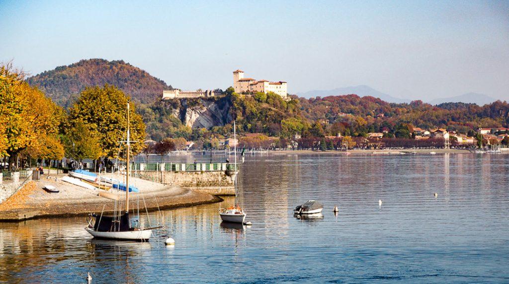 Maggiore in the Italian Lakes in the fall