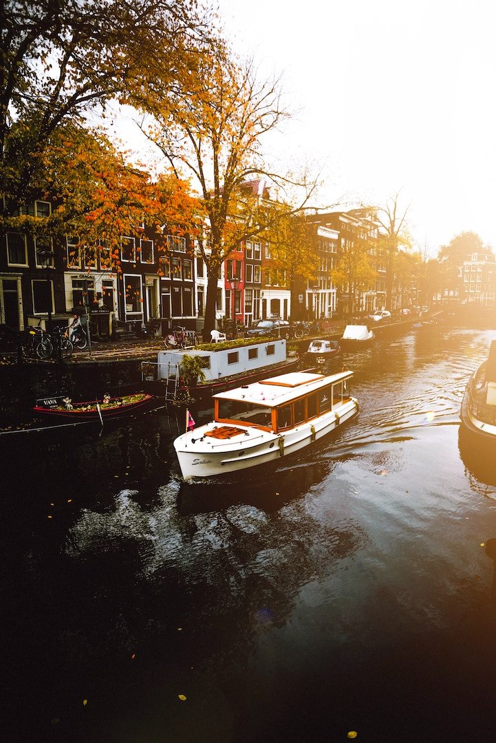 amsterdam in fall