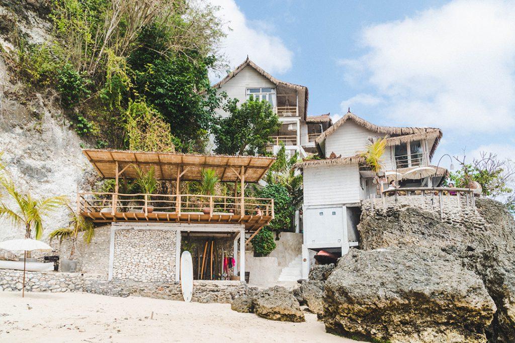 Dreamsea Uluwatu perched on the cliffs - the best bali surf camp