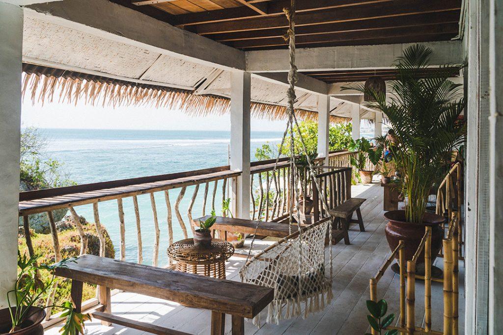 The terrace at Dreamsea Uluwatu