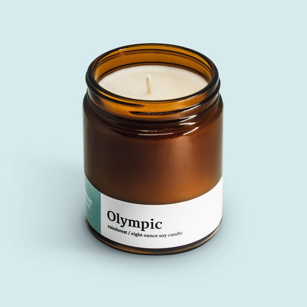 Olympic National Park Candle - one of the best travel gifts for her!
