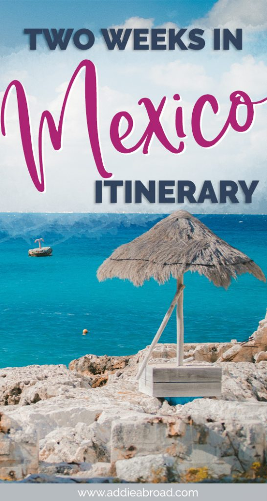 2 weeks in Mexico is the perfect amount of time to get a taste of the Riviera Maya and more! Visit the colonial city of Valladolid, scuba dive in Cozumel, SUP in Bacalar, and grab snaps for your Insta in Tulum. Click through to read! #mexico #travel #travelinspiration #tulum