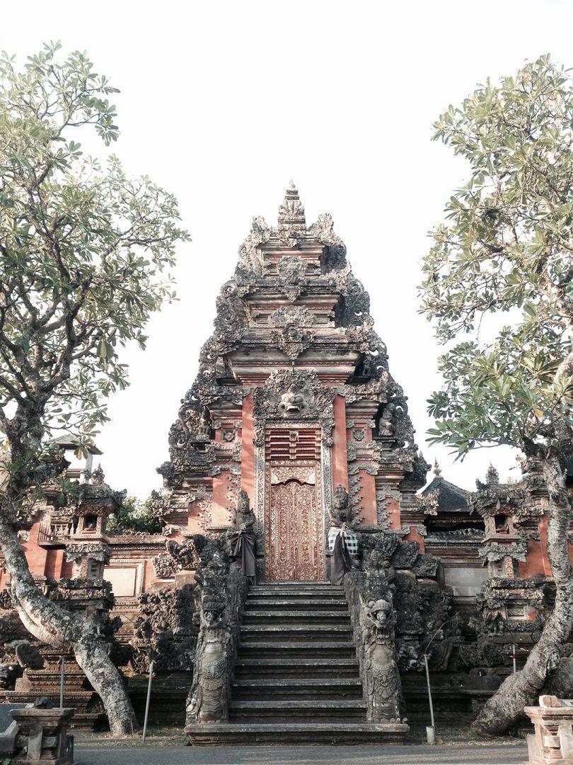 Ubud palace in downtown Ubud, Bali
