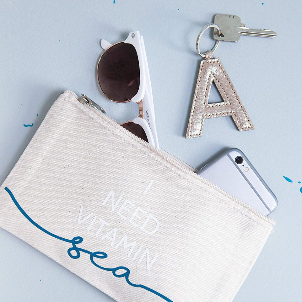 I need vitamin sea travel pouch, great travel gifts for her!