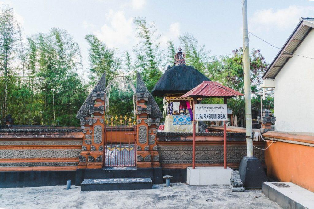 A small subak temple in Bali