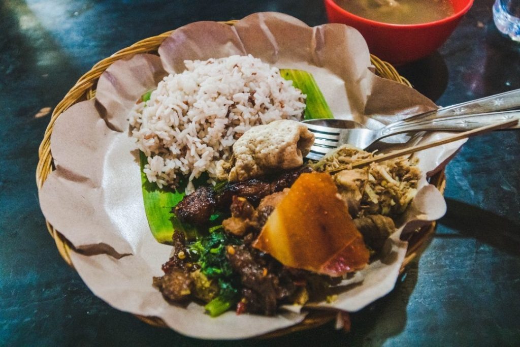Babi Guling - a delicious Balinese dish!