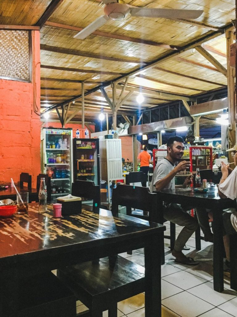 Inside the Babi Guling cafe - the first stop on the total bali food tour