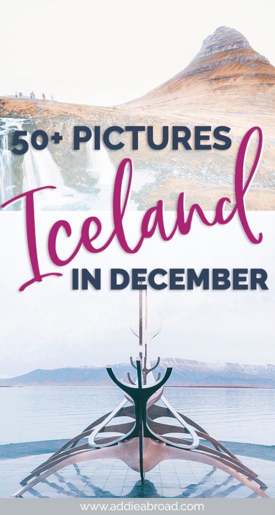 Fewer crowds and the chance to see the northern lights means winter in Iceland is one of the best times to visit. Check out these 50+ pictures of Iceland in winter that will definitely inspire you to book that plane ticket! Iceland photography at its finest. #iceland #europe #travel #travelphotography