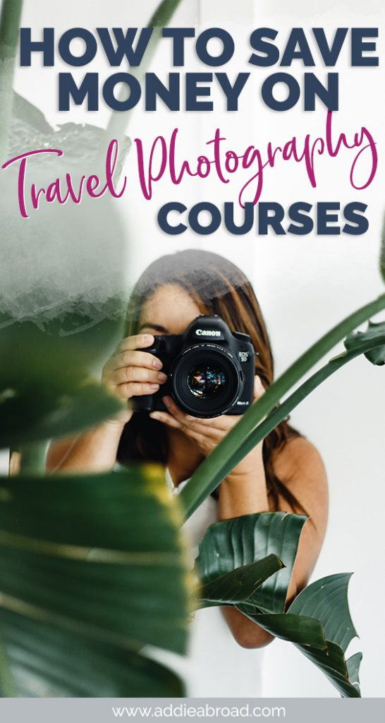 Looking for travel photography tips, tutorials, and cheat sheets? Learn about how to save money on travel photography courses in this blog post! Click through to read.