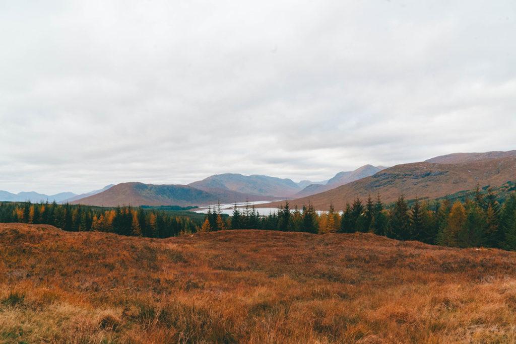loch loyne from a distance