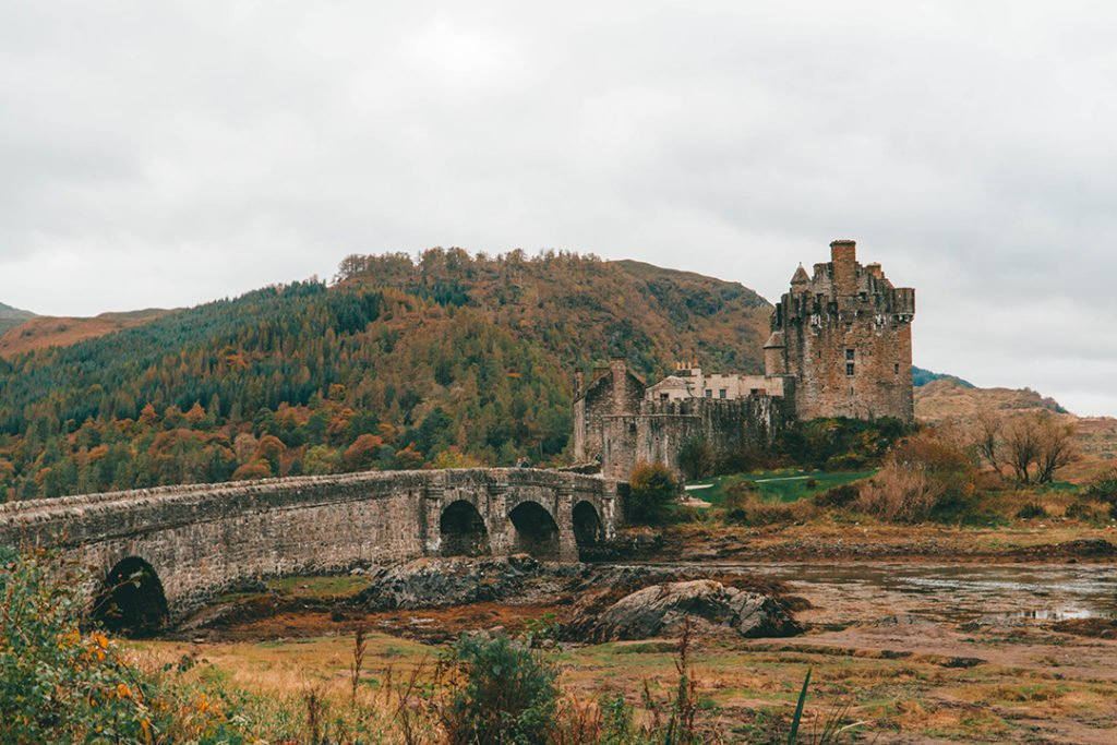Eilean Donan Castle, a stop on any isle of skye tour from edinburgh