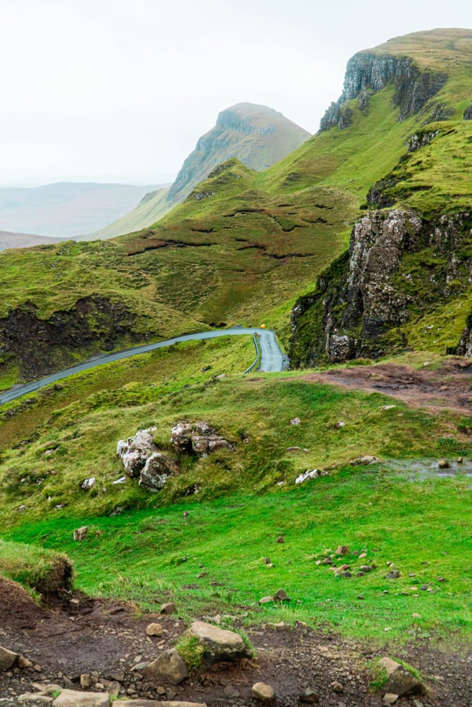 winding road of the quiraing