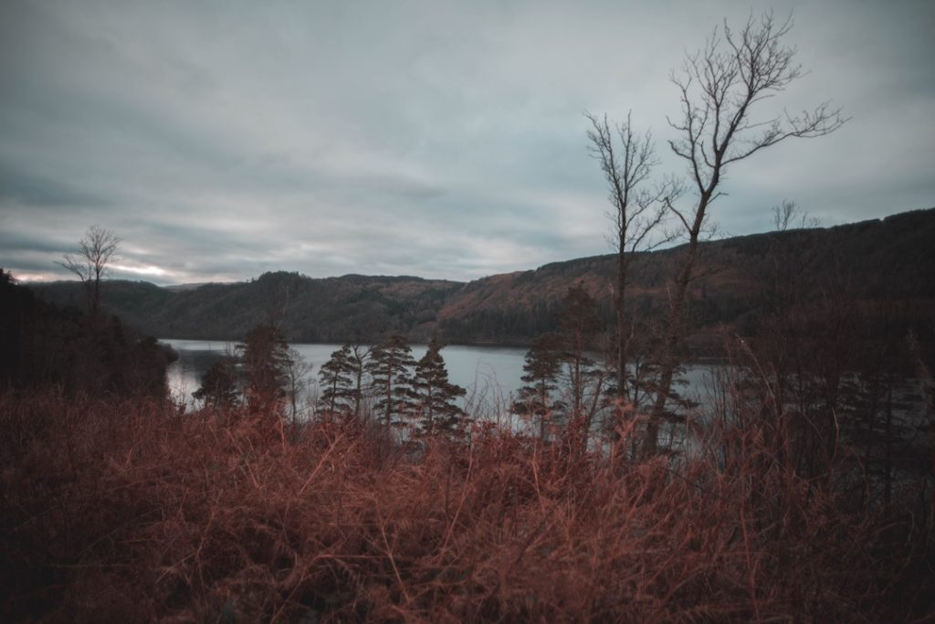 a lake in the lake district, one of the best places to visit in europe in winter