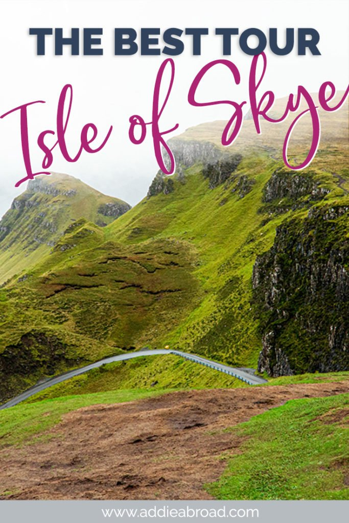 Experience the best of the Isle of Skye with Rabbie's on their amazing Isle of Skye tour from Edinburgh! Learn the best things to do on the Isle of Skye and the best Scottish Highlands and Isle of Skye itinerary in this post! Click through to read ↠ #scotland #travel #isleofskye