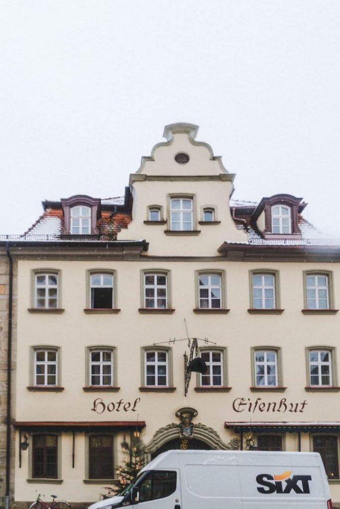 The outisde facade of Hotel Eisenbut