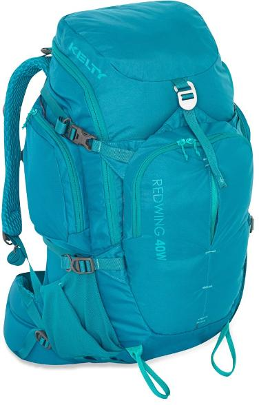kelty redwing backpack in blue - one of the best travel backpacks for women