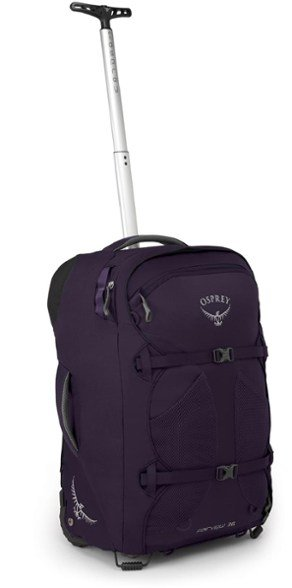 the rolling osprey fairview backpack - one of the best travel backpacks for women