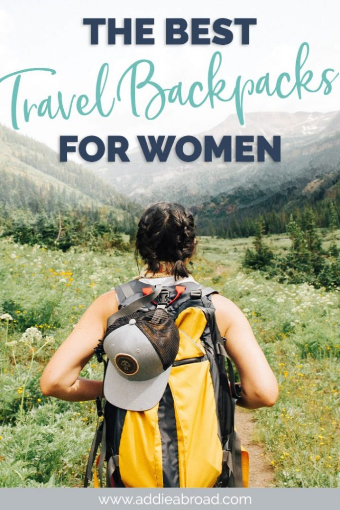 Looking for a great carry on travel backpack to help with packing for your next adventure? This post digs into everything you need to look at when choosing a travel backpack and lists the top 5 best travel backpack for women! Click through to find out what they are! #travel #backpack #packing