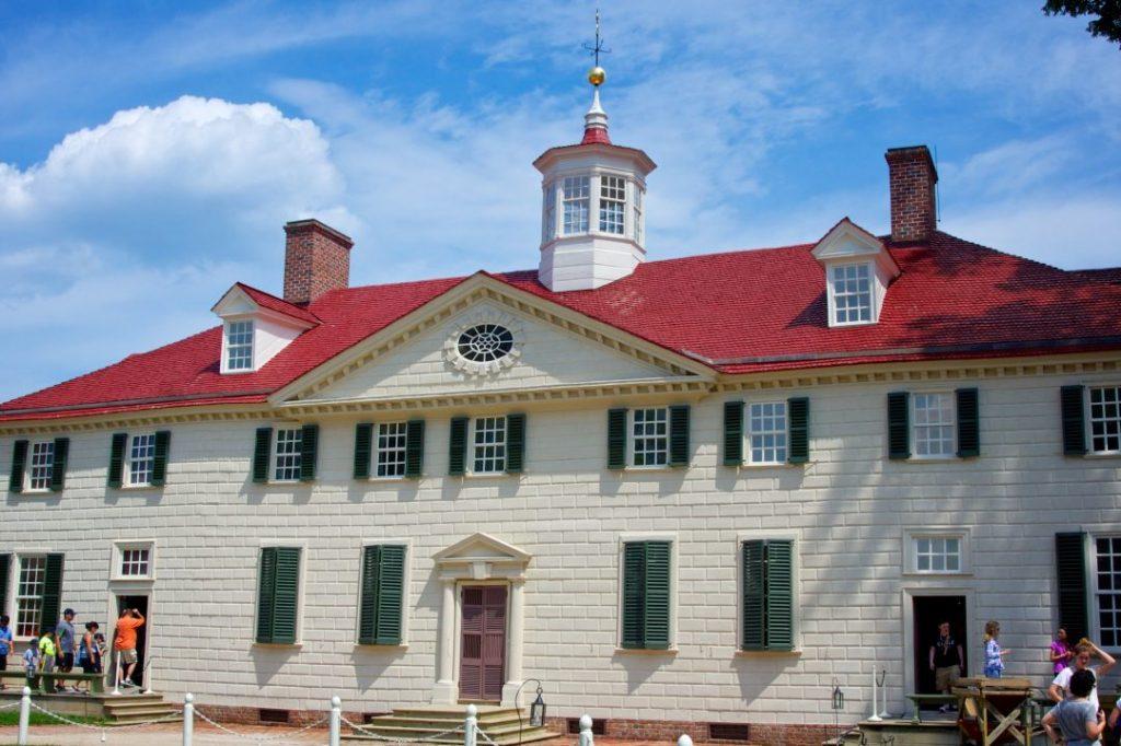 The Mount Vernon estate, just outside of Washington DC.