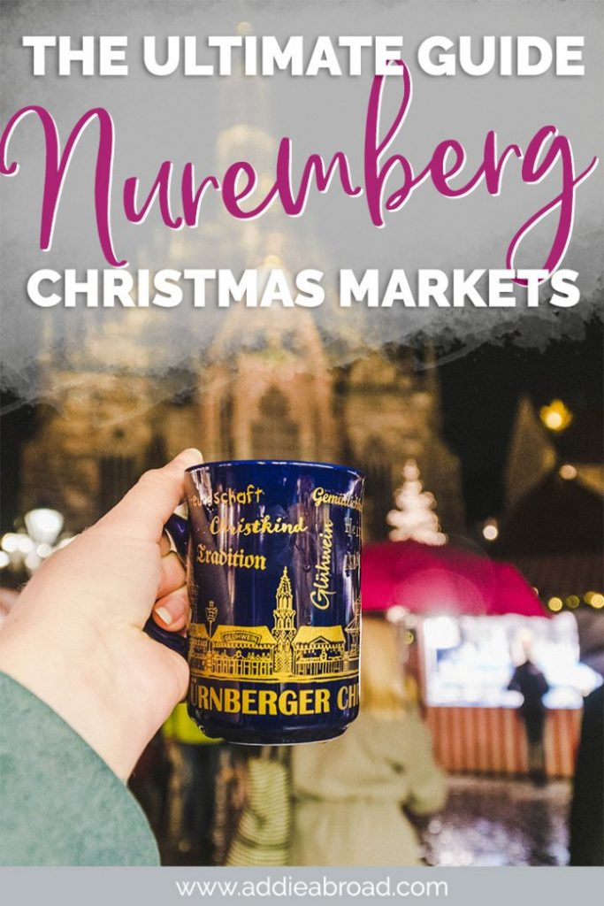 Traveling to Nuremberg for the Nuremberg Christmas Market? This blog post is the ultimate guide to the Christkindlmarkt, including the best things to do in Nuremberg, the Christmas markets in Nuremberg you need to visit this winter, what to eat, and what to buy! #christmas #christmasmarket #nuremberg #germany