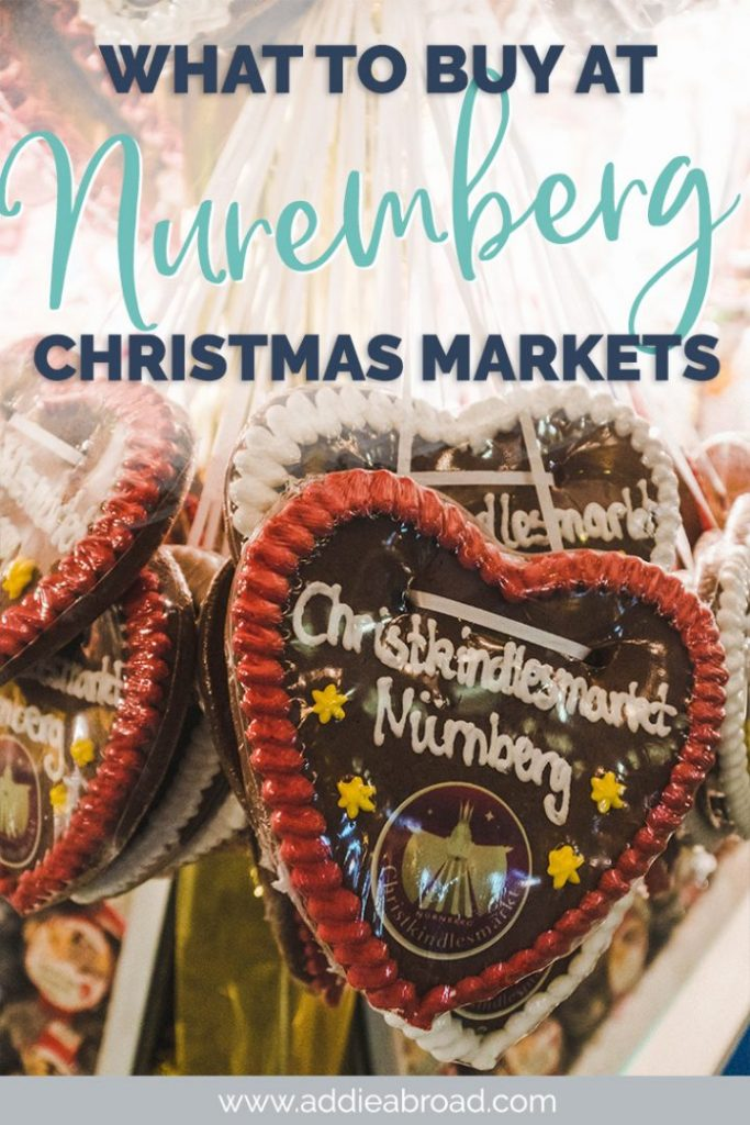 What are Zwetschkemanne (prune men)? How do you take home a Glühwein mug? If you're curious about the best things to buy at the Nuremberg Christmas Market, then you've come to the right place. This is the ultimate guide to what to buy at the Nuremberg Christkindlmarkt in Germany.  #christmas #christmasmarket #nuremberg #germany
