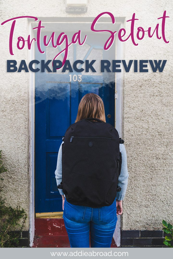 The Tortuga Setout backpack is the holy grain of carry on travel backpacks! If you're looking for a cute but functional travel backpack for all your adventures, then this is it. Click through to read my full review!