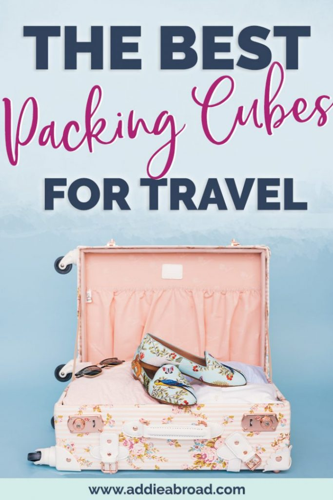 Looking for the best packing hacks? It's no secret: they're packing cubes! This post is a review of the 7 best packing cubes for travel, including eBags and Amazon basics packing cubes. Whether you're backpacking or traveling carry on only, they're a must have.