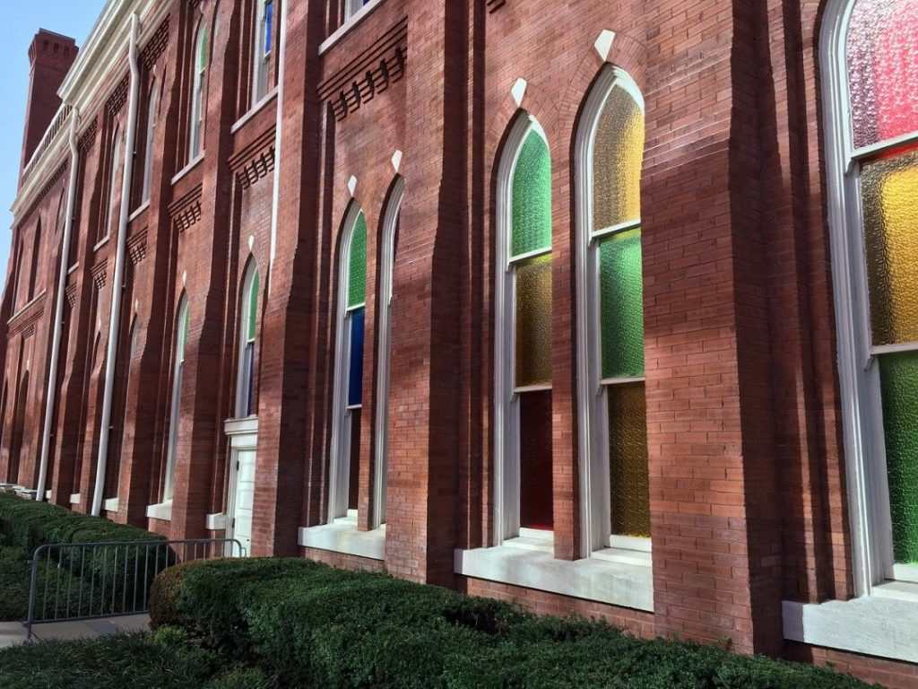 Ryman Auditorium from the outside
