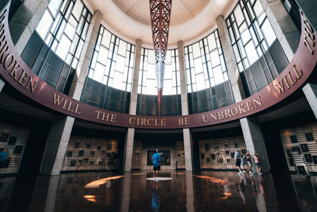 The Country Music Hall of Fame in Nashville, TN